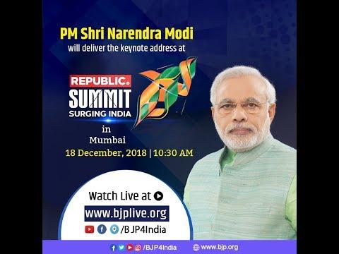 PM Shri Narendra Modi's keynote address at Republic Summit