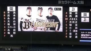 オリックスからFAで阪神タイガースに移籍した西勇輝投手が古巣の本拠地(...