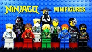 LEGO Ninjago Masters of Spinjitzu Rebooted KnockOff Minifigures Set 4 (Bootleg)