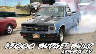 JMALCOM2004 BUDGET S10 EPISODE 29: 1ST TEST AND DRIVE WITH THE MINI SPOOL AND 3.73 GEAR