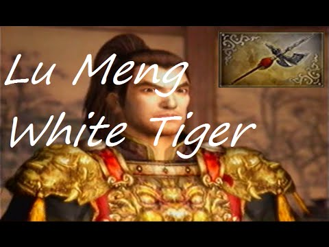 Let's Play Dynasty Warriors 5 #60 - Lu Meng 4th Weapon - White Tiger
