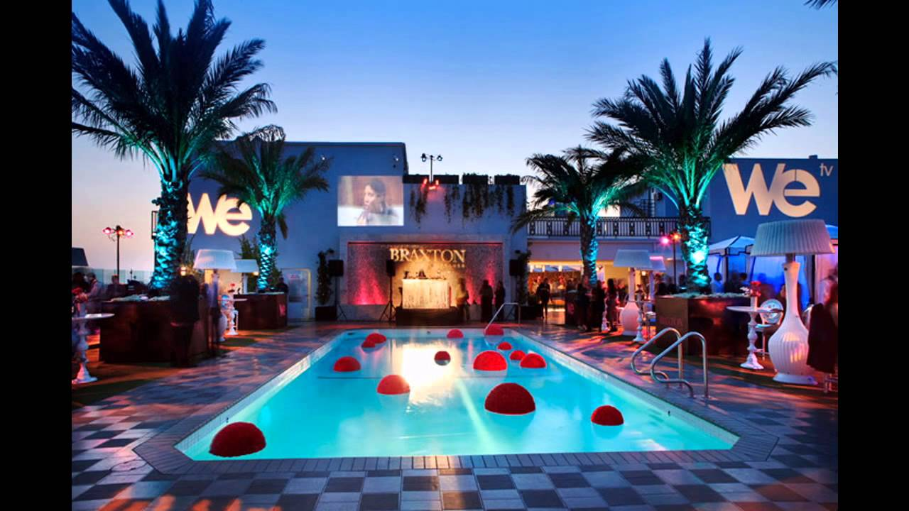 Hotel Pool Party Ideas the best las vegas cabana travel leisure Stunning Pool Party Decorations Youtube