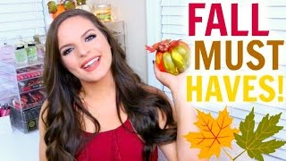 FALL 2015 MUST HAVES! | Casey Holmes