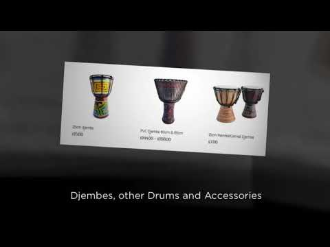 Handmade gifts and musical instruments imported from South America, Africa and South East Asia
