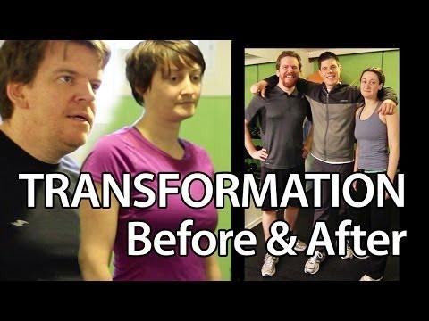 """Shawn & Meg"" Ottawa Personal Training Transformation Burke Cleland Testimoniall"