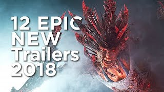 2018 Trailers (Upcoming Games) - 12 NEW Games of 2018 (PS4, Xbox One & PC)
