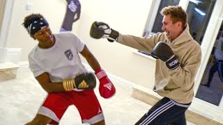 FIGHTING KSI!