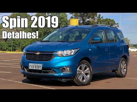 Chevrolet Spin LTZ 2019 em detalhes - Falando de Carro