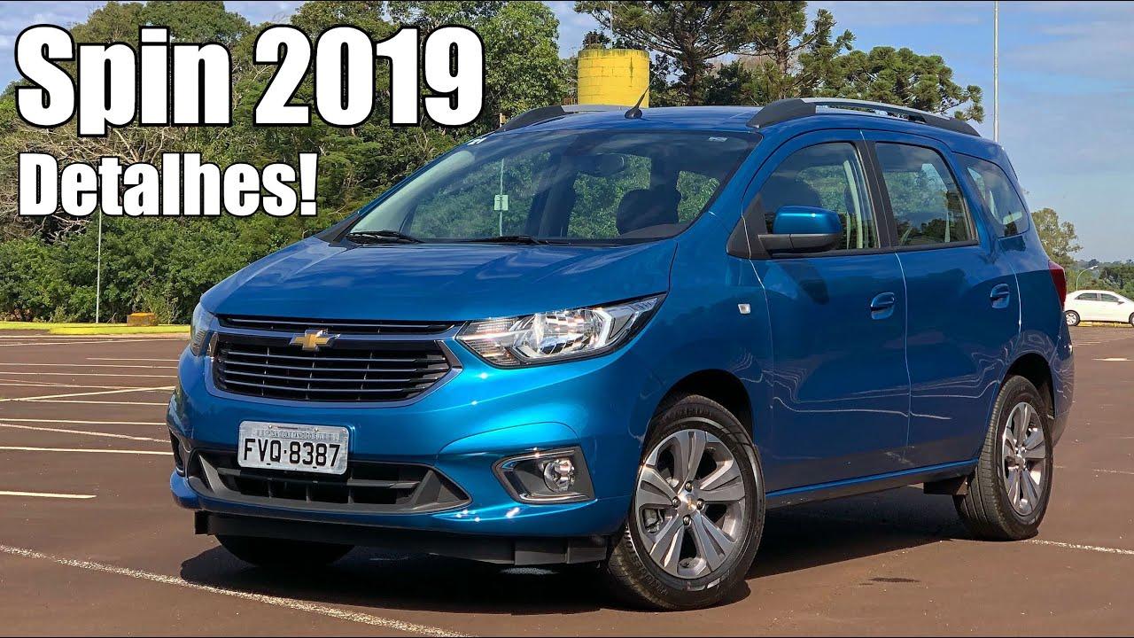 Chevrolet Spin LTZ 2019 em detalhes - Falando de Carro - YouTube 4e0f09c686