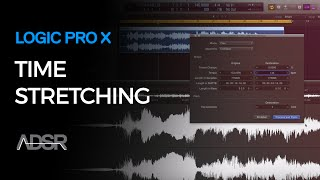 Time Stretching in Logic Pro X