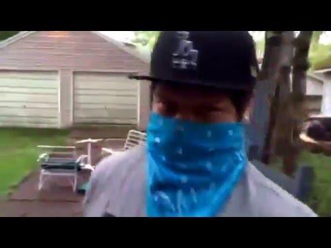 Gang War Parody: E1 Blood VS Crip Gunfight