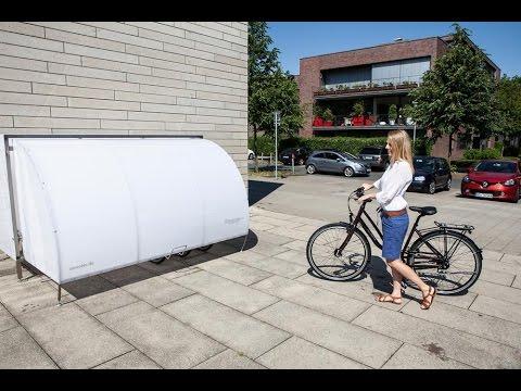 fahrradgarage für 4 fahrräder