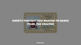 SWEET/I THOUGHT YOU WANTED TO DANCE-Tyler, the creator (Traducción en español)