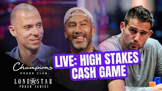 Champions Poker Club: High Stakes Cash Game