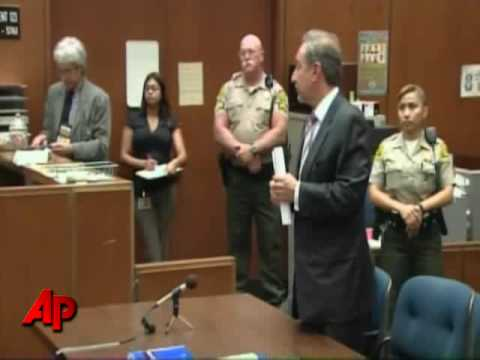Raw Video: Chris Brown in Court