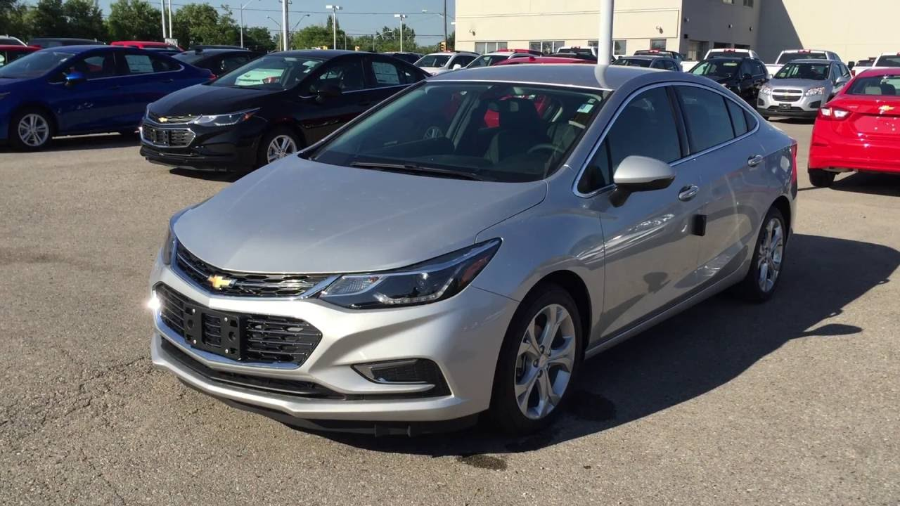 2016 chevrolet cruze auto premier silver ice metallic roy nichols motors courtice on youtube. Black Bedroom Furniture Sets. Home Design Ideas