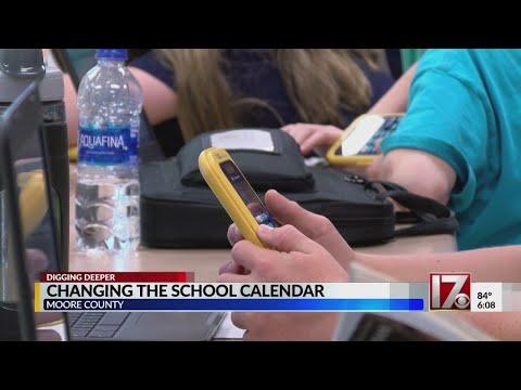Moore County Schools Consider Year-round Calendar