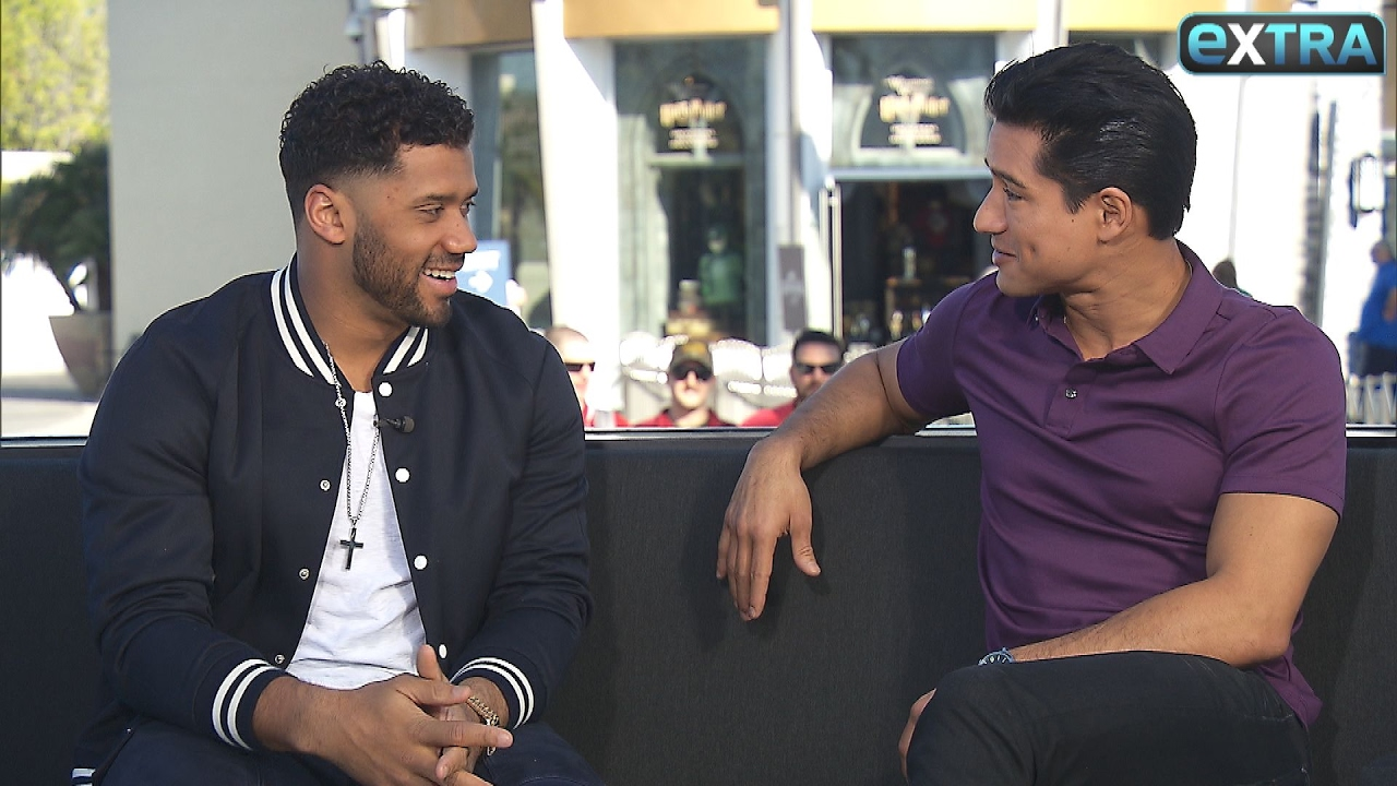306978605 Russell Wilson Reveals Baby Details with Ciara   Super Bowl Prediction -  YouTube