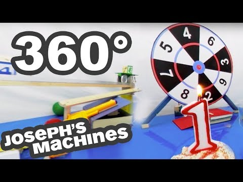 FIRST EVER 360 Rube Goldberg Machine