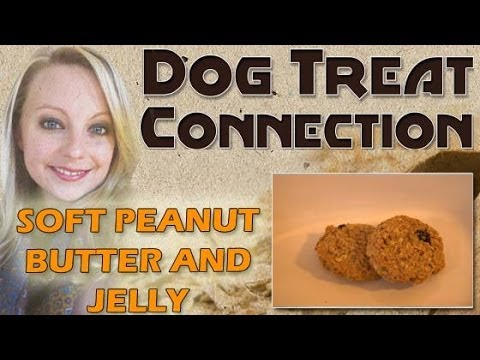 Soft Peanut Butter & Jelly Treats - Healthy And All Natural Dog Treats