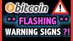 ALERT!! BITCOIN FLASHING WARNING SIGNS?!! 🛑 Crypto Analysis TA Today & BTC Cryptocurrency Price News