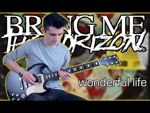 Bring Me The Horizon - wonderful life (Guitar & Bass Cover w/ Tabs)