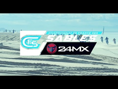 Beach-Cross de Berck Pas de Calais 2019 - CFS 24MX - Quads (3e manche)