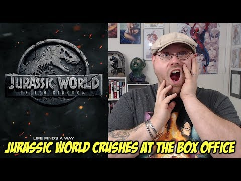 Jurassic World: Fallen Kingdom Crushes At The Box Office!!!