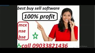 bharatfin conform trade signal profit best buy sell amibroker software in hindi