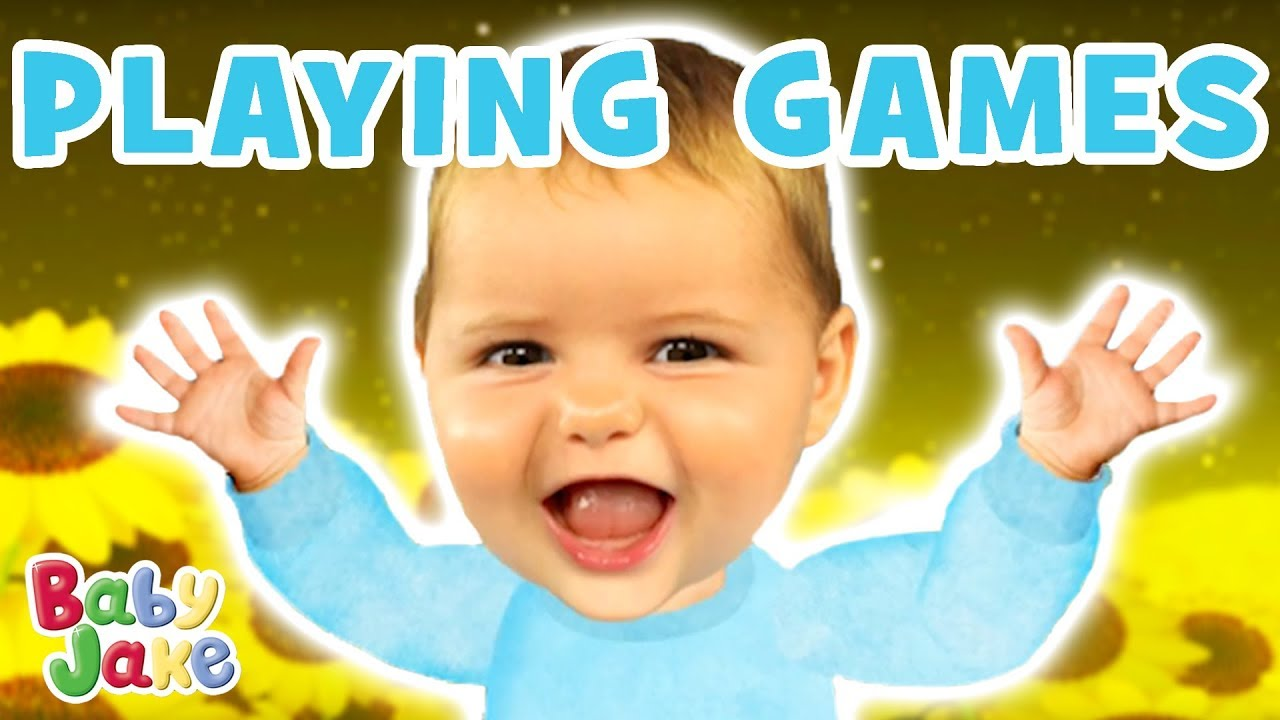 Baby Jake - Loves Playing Games - YouTube