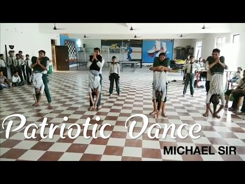 India's best Patriotic Fusion HIP-HOP DANCE||Chore.by MICHAEL JAYDEEP SIR||AMAN INTERNATIONAL SCHOOL