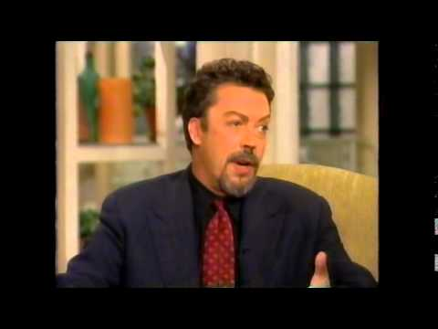 Tim Curry - The View - Meredith Vieira Interview & Question Of The Day - Over The Top Promo - 1997