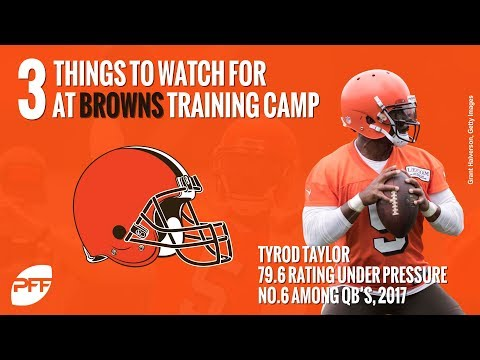 What to watch for at the Browns training camp | PFF