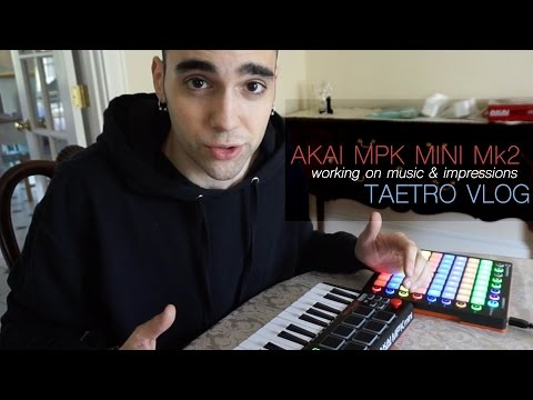 Making Music for an iPhone Game! + Akai MPK Mini Mk2 Impressions - Duration: 5:51.