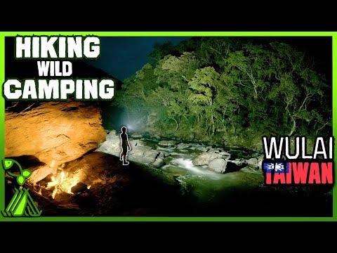 Hiking and camping vlog, Wulai, Taiwan!