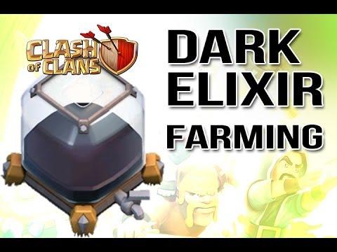 Clash of Clans :: Easy Dark Elixir Farming