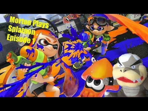 Morton plays Splatoon Episode 1