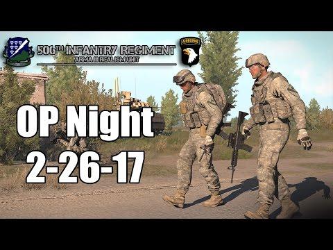 """AMBUSH"" - 506th IR Op Night - Bravo Company"