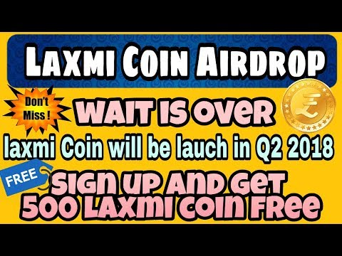 Laxmi Coin Airdrop - Sign Up And  Get 500 Coins Free | Laxmi Coin Launching Soon | Earn Free Bitcoin