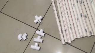 Cómo hacer un backdrop con tubos PVC.