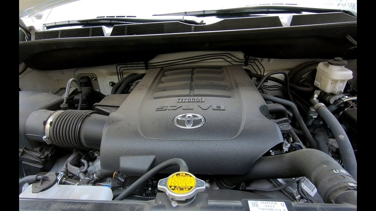 Changing Oil On 2016 Toyota Tundra