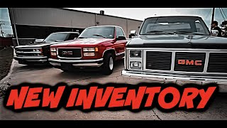 NEW INVENTORY! UPDATE ON THE TURBO TRUCK!!