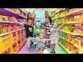 BACK TO SCHOOL - School Supply SHOPPING for 6 KIDS 2018! | YAWI Vlogs
