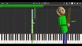 Baldi's Basics MIDI files (download)