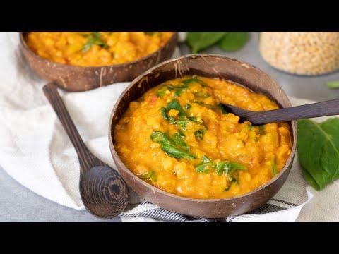 Turmeric Lentil Stew Recipe