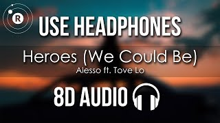 Скачать Alesso Ft Tove Lo Heroes We Could Be 8D AUDIO