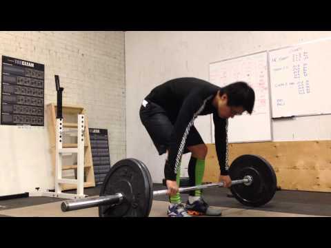 Olympic Weightlifting - Clean & Jerk practice November 15, 2013