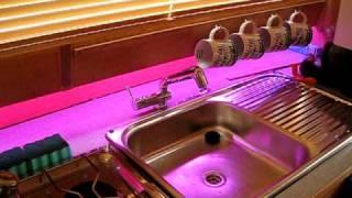 Vino Collapso Led Lights Sink