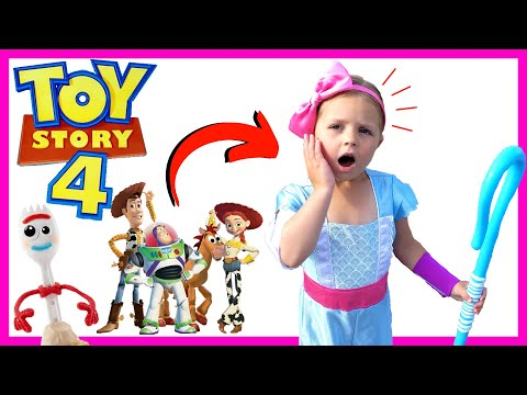 Bo Peep Rescues Toy Story 4 Toys | Toy Story 4 Toy Hunt At Target | Rv Friends