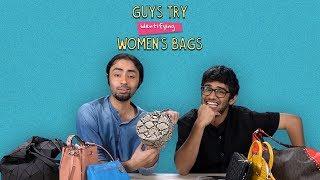 Guys Try Identifying Women's Bags | Ft. Kaustubh & Kanishk | Ok Tested